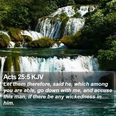 Acts 25:5 KJV Bible Verse Image