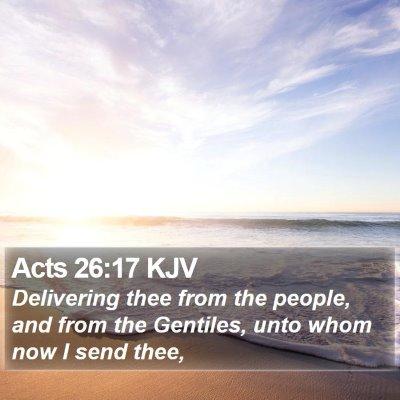Acts 26:17 KJV Bible Verse Image