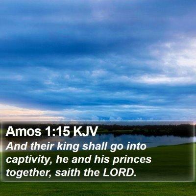 Amos 1:15 KJV Bible Verse Image