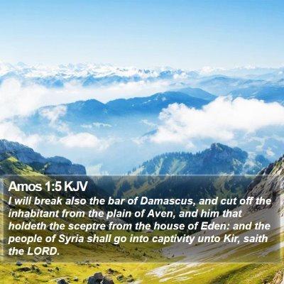Amos 1:5 KJV Bible Verse Image