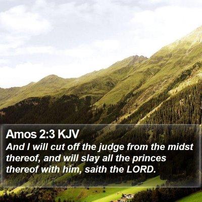 Amos 2:3 KJV Bible Verse Image