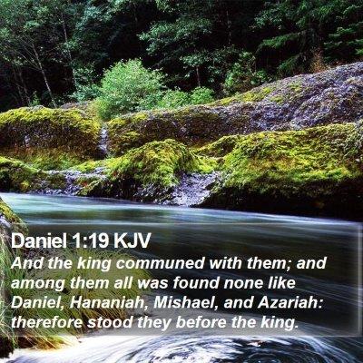 Daniel 1:19 KJV Bible Verse Image