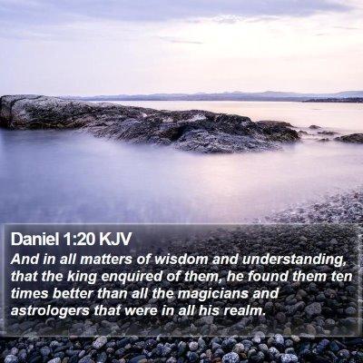 Daniel 1:20 KJV Bible Verse Image
