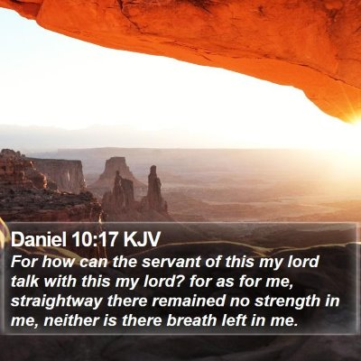 Daniel 10:17 KJV Bible Verse Image