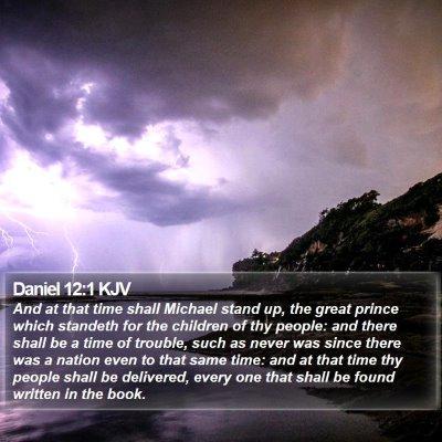 Daniel 12:1 KJV Bible Verse Image