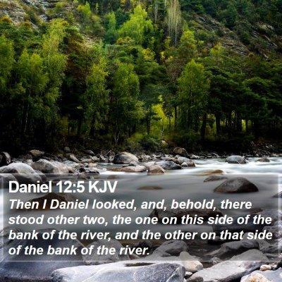 Daniel 12:5 KJV Bible Verse Image