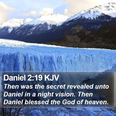 Daniel 2:19 KJV Bible Verse Image