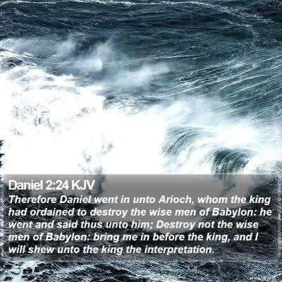 Daniel 2:24 KJV Bible Verse Image