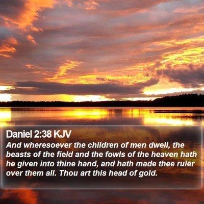 Daniel 2:38 KJV Bible Verse Image
