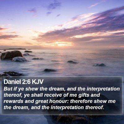Daniel 2:6 KJV Bible Verse Image