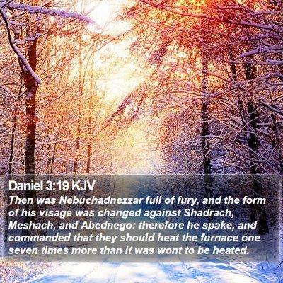 Daniel 3:19 KJV Bible Verse Image