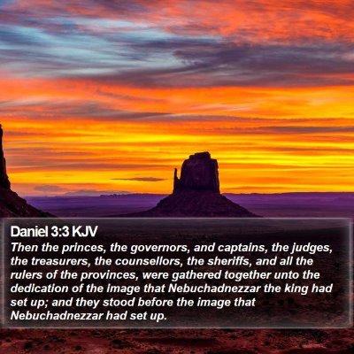 Daniel 3:3 KJV Bible Verse Image