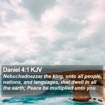 Daniel 4:1 KJV Bible Verse Image