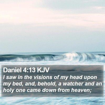 Daniel 4:13 KJV Bible Verse Image