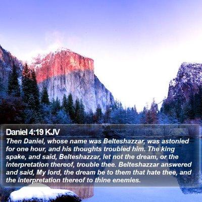 Daniel 4:19 KJV Bible Verse Image