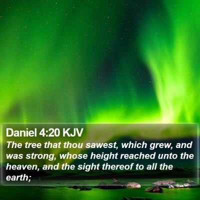 Daniel 4:20 KJV Bible Verse Image