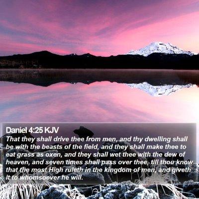 Daniel 4:25 KJV Bible Verse Image