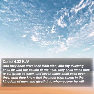 Daniel 4:32 KJV Bible Verse Image