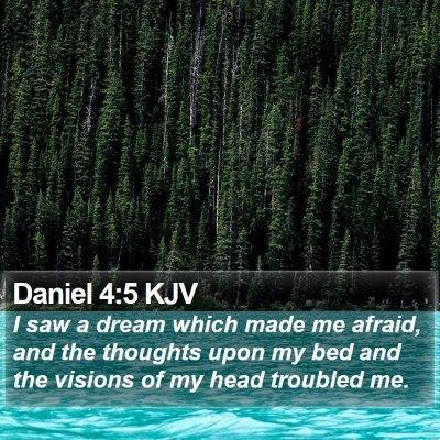 Daniel 4:5 KJV Bible Verse Image