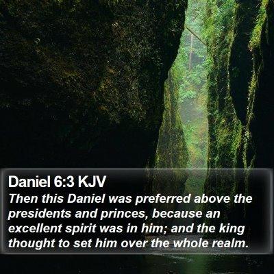 Daniel 6:3 KJV Bible Verse Image