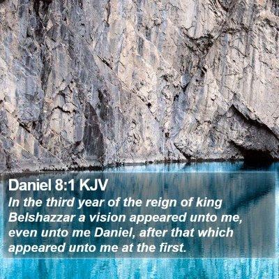 Daniel 8:1 KJV Bible Verse Image