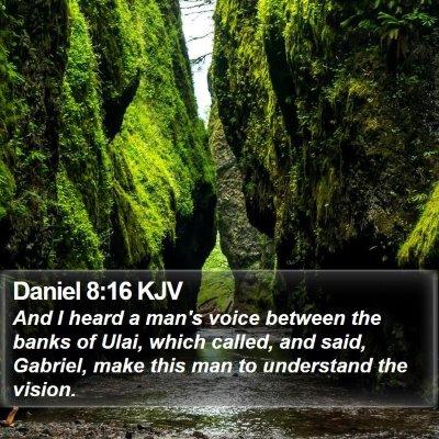 Daniel 8:16 KJV Bible Verse Image