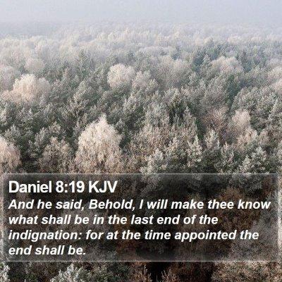Daniel 8:19 KJV Bible Verse Image