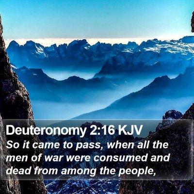 Deuteronomy 2:16 KJV Bible Verse Image