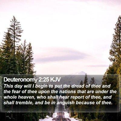 Deuteronomy 2:25 KJV Bible Verse Image