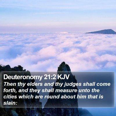 Deuteronomy 21:2 KJV Bible Verse Image