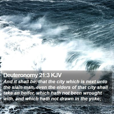 Deuteronomy 21:3 KJV Bible Verse Image