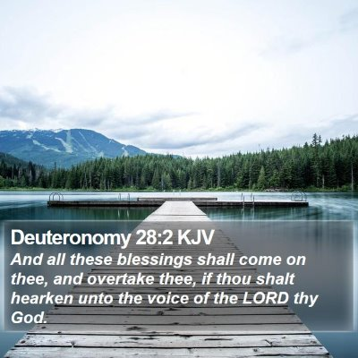 Deuteronomy 28:2 KJV Bible Verse Image