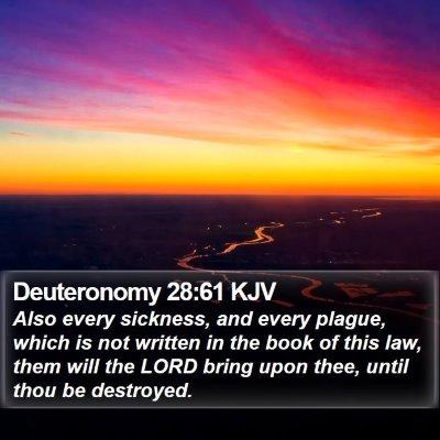 Deuteronomy 28:61 KJV Bible Verse Image
