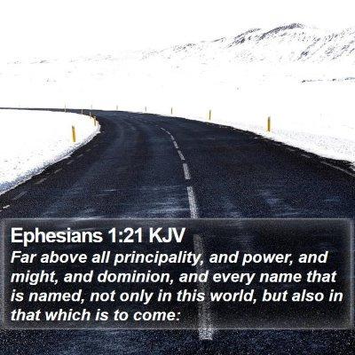 Ephesians 1:21 KJV Bible Verse Image