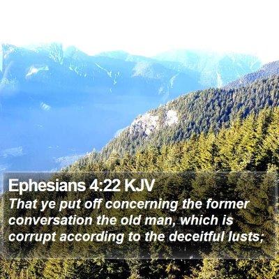 Ephesians 4:22 KJV Bible Verse Image