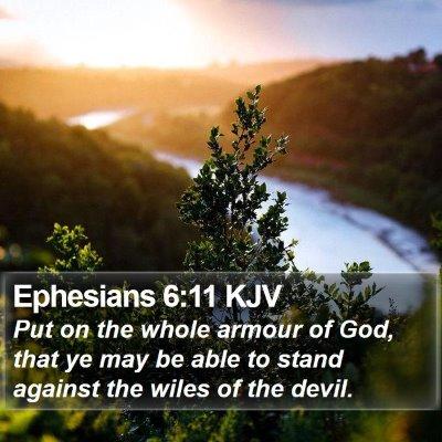 Ephesians 6:11 KJV Bible Verse Image