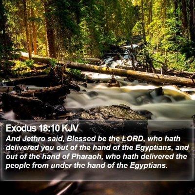 Exodus 18:10 KJV Bible Verse Image