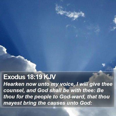 Exodus 18:19 KJV Bible Verse Image