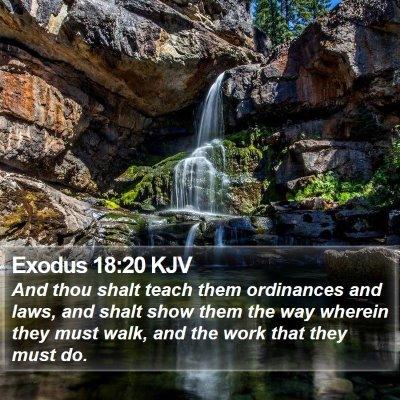 Exodus 18:20 KJV Bible Verse Image