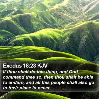 Exodus 18:23 KJV Bible Verse Image