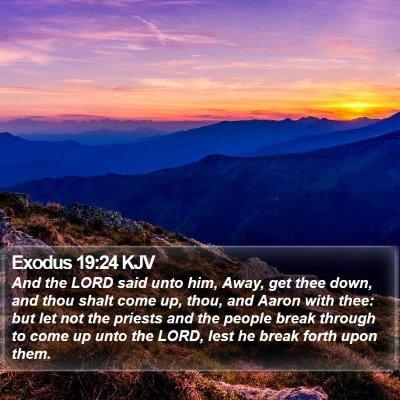 Exodus 19:24 KJV Bible Verse Image