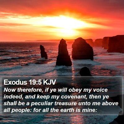 Exodus 19:5 KJV Bible Verse Image