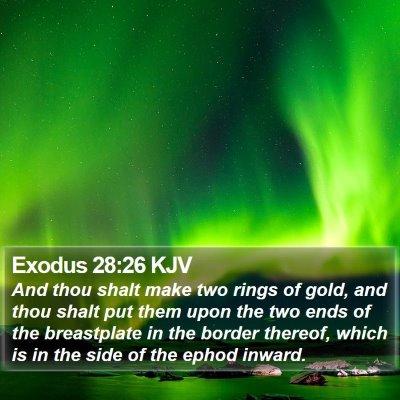 Exodus 28:26 KJV Bible Verse Image