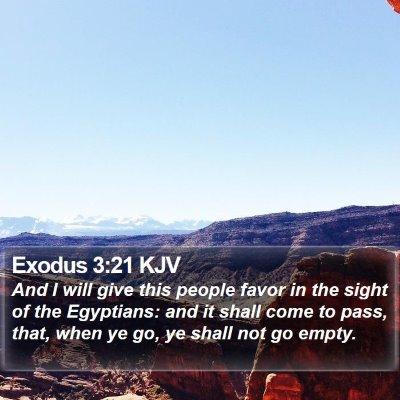 Exodus 3:21 KJV Bible Verse Image