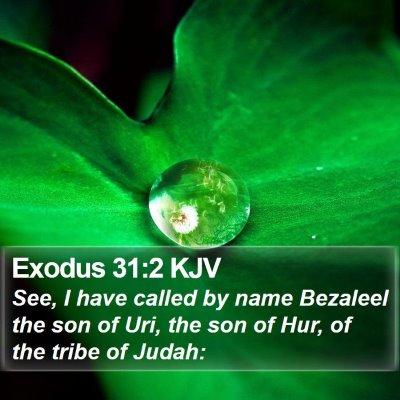 Exodus 31:2 KJV Bible Verse Image