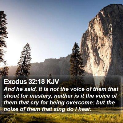 Exodus 32:18 KJV Bible Verse Image