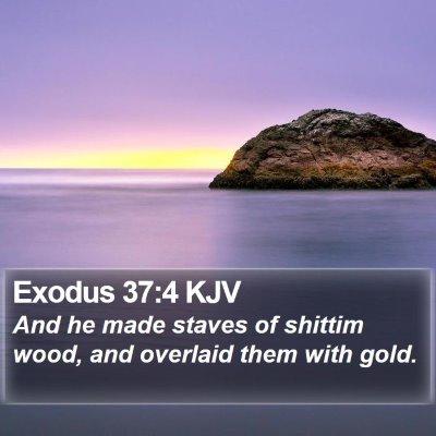 Exodus 37:4 KJV Bible Verse Image