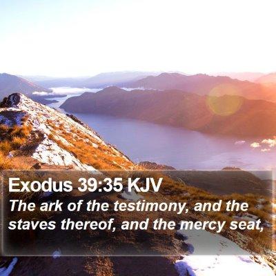 Exodus 39:35 KJV Bible Verse Image