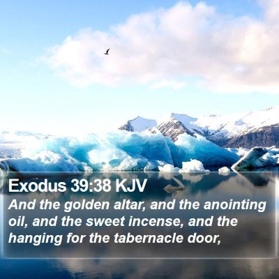 Exodus 39:38 KJV Bible Verse Image
