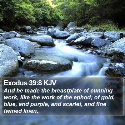 Exodus 39:8 KJV Bible Verse Image